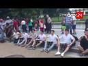 США: Выступление азербайджанской молодежи перед Белым домом. Вятянин севянляря, eшг олсун!