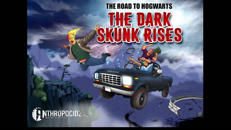 The road to hogwarts - The dark skunk rises (русские субтитры)