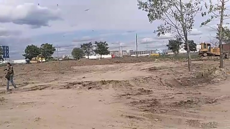 Строительство парка Героев-Пожарных