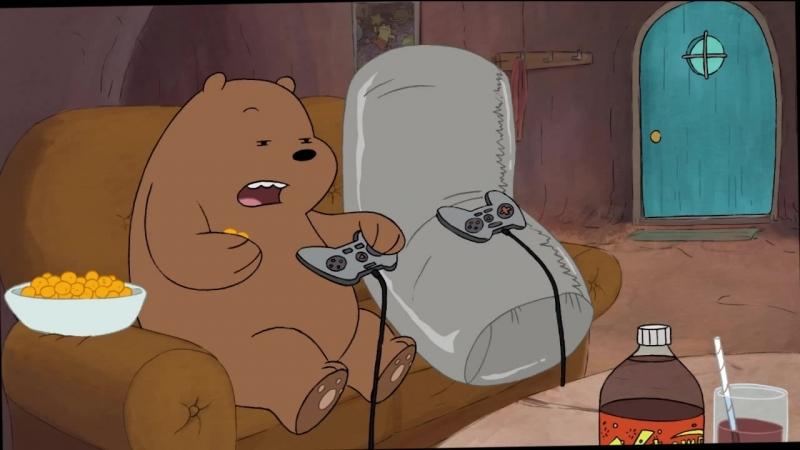 Сезон 1 - Серия 7 Буррито • Вся правда о медведях • Мы обычные медведи • We Bare Bears