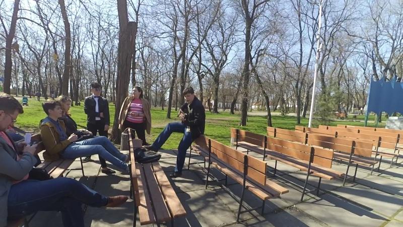 Егор Даньшин и Молодёжный Парламент