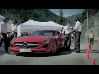 Michael Schumacher in the SLS AMG tunnel experiment (long-version) _ Ridgeway Me