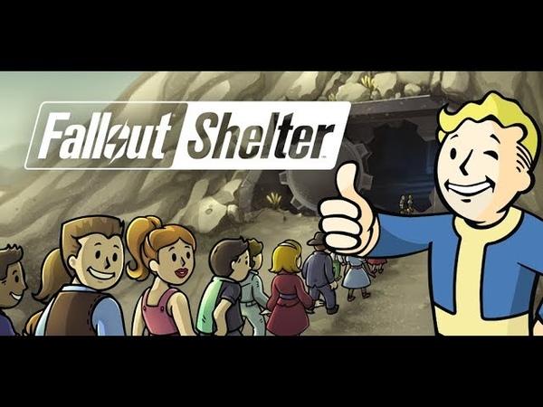 Играем в двух убежищах сразу.Fallout Shelter.3