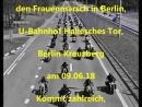 Nachdem der letzte Frauenmarsch wegen Bikers for AfD 2