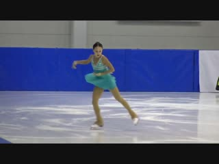 Liana Vakhitova (RUS) - 1st Christmas Cup, Jr. Ladies SP - Nov 29, 2018 - Budapest