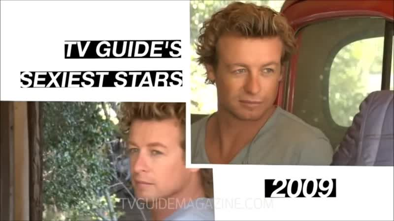 TV Guide Magazine_ Simon Baker The Sexiest Man on Television 2009