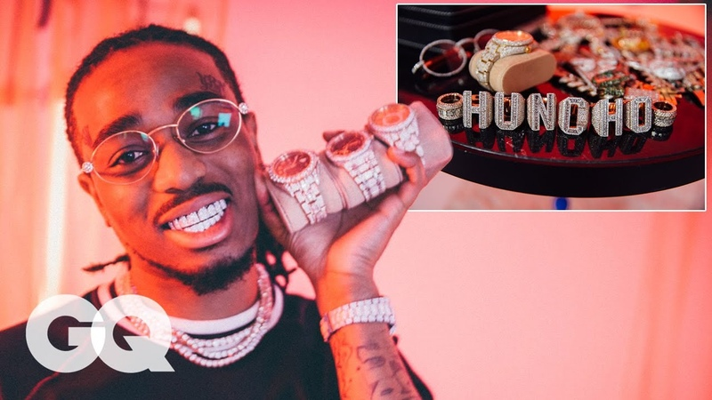 Quavo Shows Off His Insane Jewelry Collection | GQ