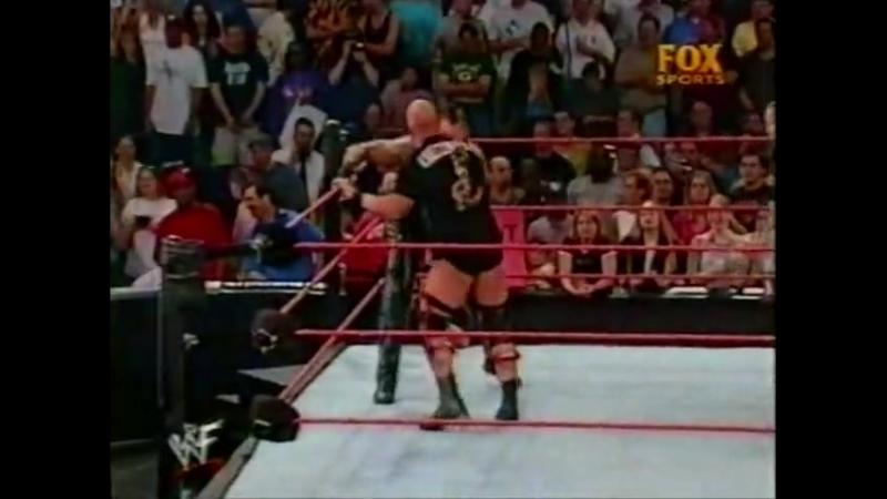 |WM| Гробовщик против Стива Остина - Ро 30.04.2001