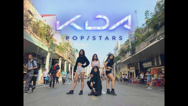 [Cover] 181126 KDA - POPSTARS - KDA @ Dance Cover by YB CREW