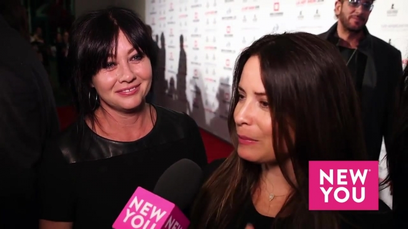 Holly Marie Combs and Shannen Doherty Describe Their Long Friendship to Ashley Hume
