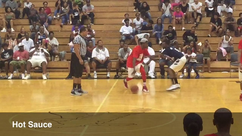 Streetball Legend Hot Sauce Plays Celeb Game At Central