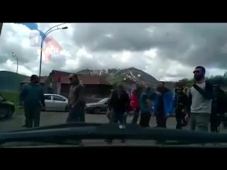 1 русский против 20 грузин в Грузии