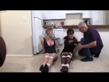 2 beautiful women bound and gagged