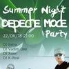 Summer Night Depeche Mode Party