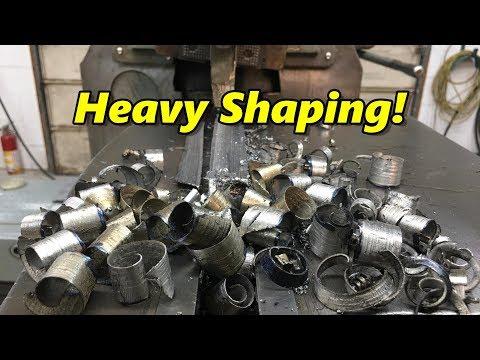 SNS 207: Heavy Shaper Cuts, Horizontal Boring Mill