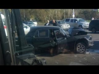 В Хабаровском крае в аварию попала съемочная группа
