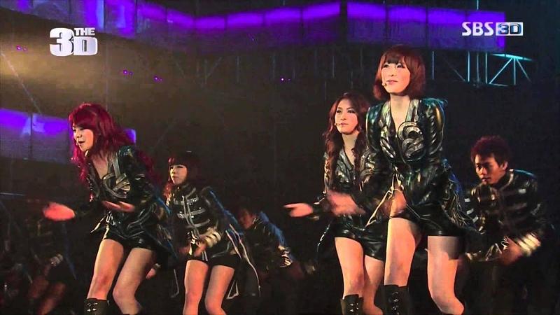 131229 KARA - Step, Wanna @ SBS 3D TV's Moving World