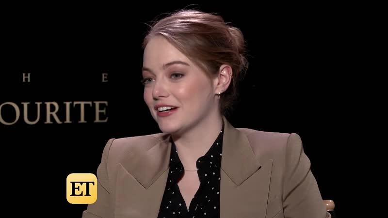 Emma Stone Dishes on Steamy Onscreen Scene With Taylor Swifts Boyfriend, Joe Alwyn (Exclusive)