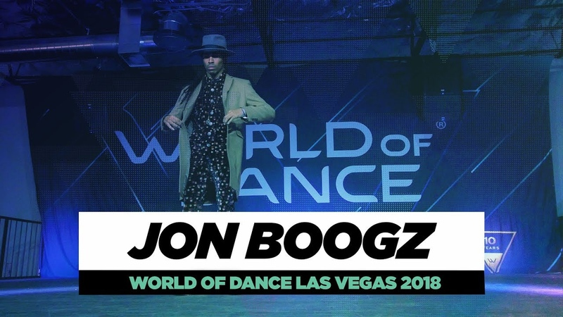 Jon Boogz | FRONTROW | World of Dance Las Vegas 2018 | WODVEGAS18 | Danceproject.info