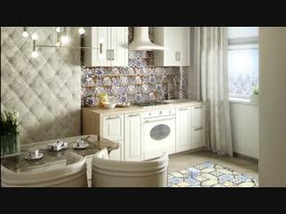 Интерьер двухкомнатной квартиры -Евроремонт