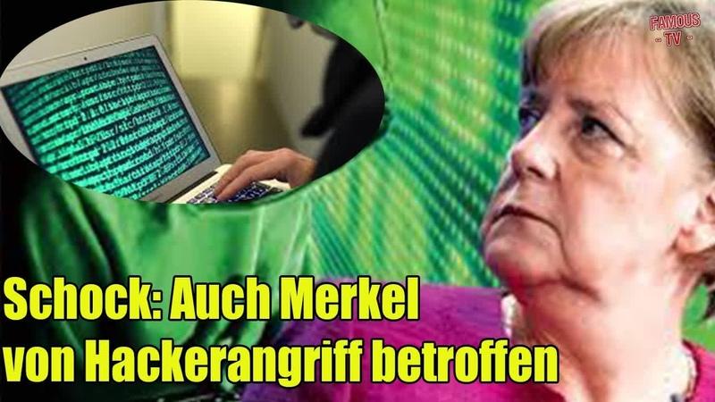 Merkel Schock Auch Merkel von Hackerangriff betroffen