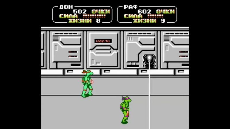 [Taurus Gaming Revival] Teenage Mutant Ninja Turtles 2 (NES) - 3: Grey Fox - Игра окончена (ФИНАЛ) [Co-op]