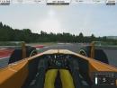 RRRE: Competition /Formula RaceRoom X-17 (Red-Bull Ring (AUT). Начальные круги вката..