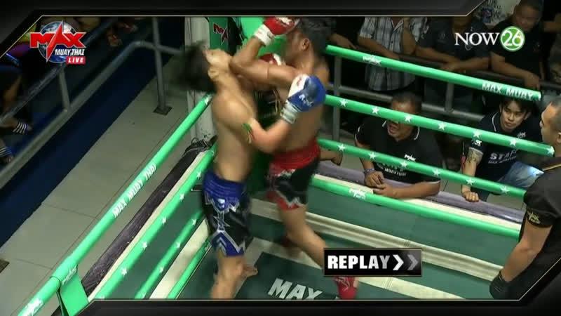 Локтевой бой. Max Muay Thai.