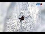 Ростовчанин вытоптал на снегу образ Моны Лизы