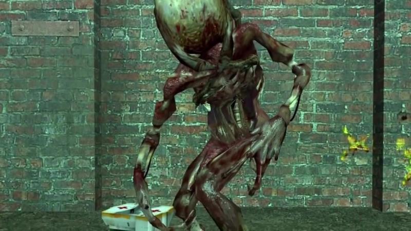 Монстры из игр- Хэдкрабы [Half-Life]