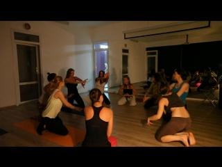эротик-йога открытый урок с А.Ерофеевой