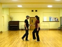 Lindy Hop Swingout with a rock-step demo