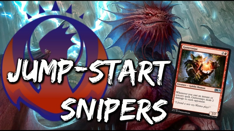 Jump-Start Snipers [MTG Arena] | Izzet Guilds of Ravnica Mechanic Deck in GRN Standard