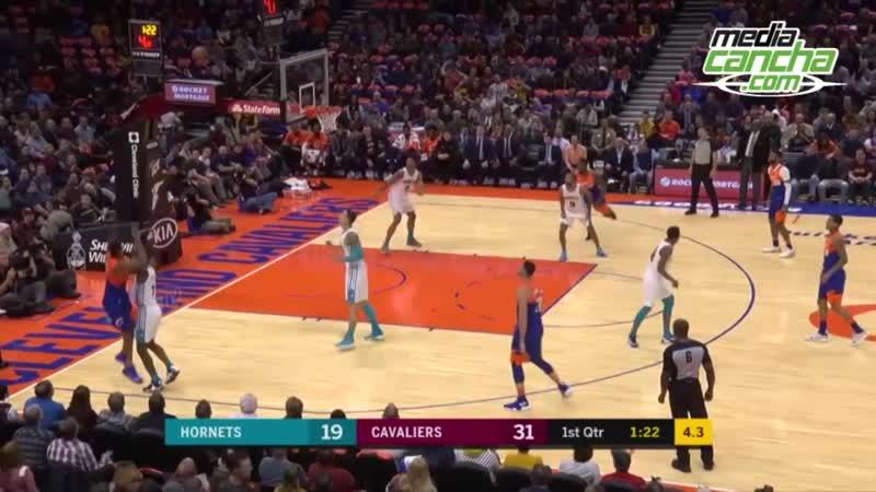 Cavaliers logra segunda victoria en la NBA, derrota 113-89 a Hornets