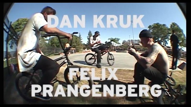 WETHEPEOPLE BMX: Dan Kruk Felix Prangenberg - Cheeky VX