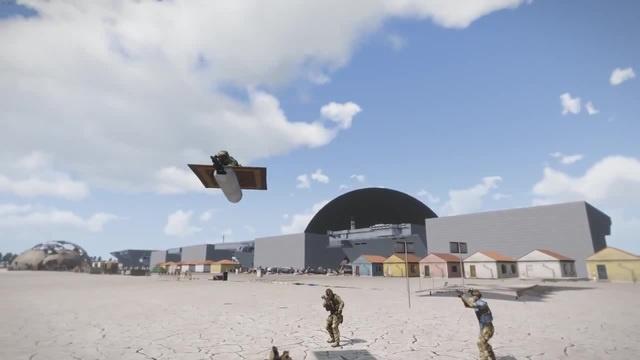 Arma 3. Ковёр Самолёт