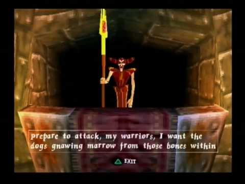 MediEvil-Zarok(Final Boss)-Ending Movie-Part 12-(PS ONE)-PAL-