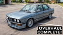 BMW E28 Overhaul How Does It Drive
