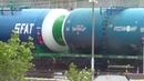 ВЛ10у-102 с наливным грузовым поездом