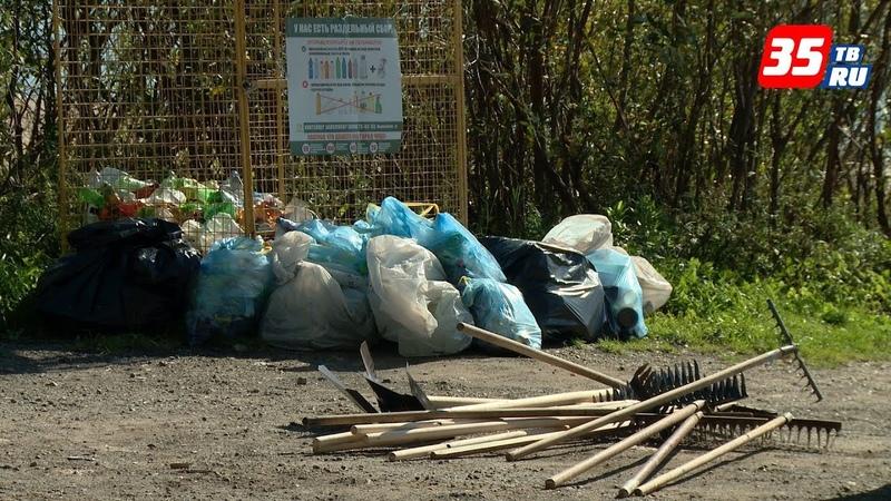 Более 2,5 тонн мусора собрали с берегов Шексны череповчане во Всемирный день чистоты