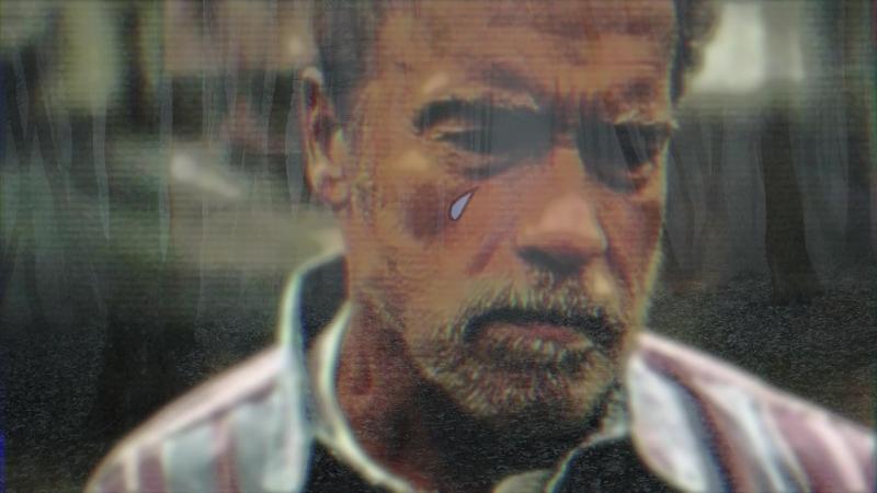 Scwarzenegger tears