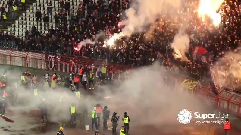 CRVENA ZVEZDA PARTIZAN Superliga Srbija 02 03 2019