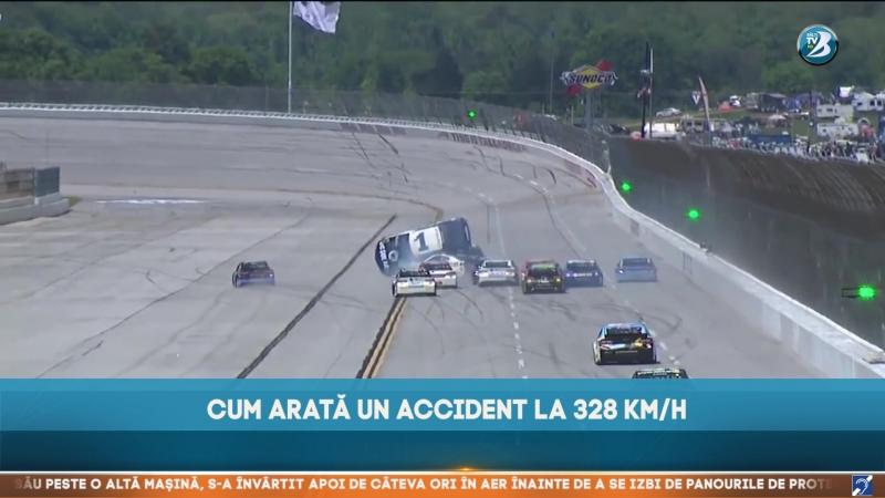CUM ARATĂ UN ACCIDENT LA 328 KM/H