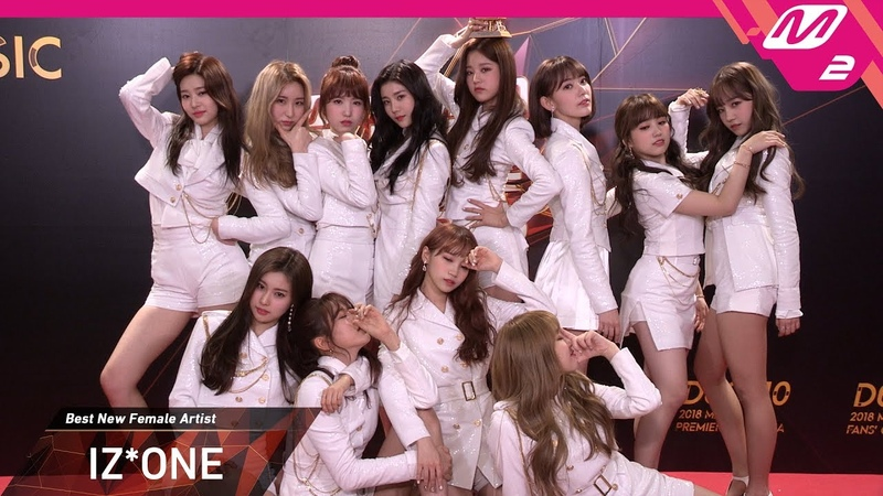 [2018MAMA x M2] 아이즈원(IZ*ONE) at 땡큐스테이지(Thank You Stage) in KOREA