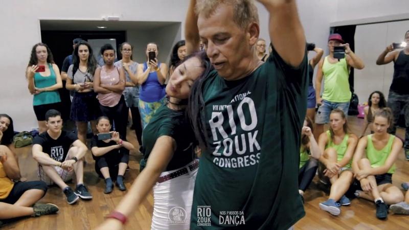Jaime Arôxa Kiri Chapman - Aula iniciante (VII Rio Zouk Congress)