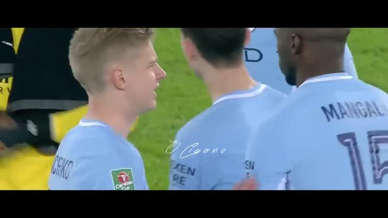 Oleksandr Zinchenko Vs Leicester (A) HD 1080i 19_12_2017 Carabao Cup