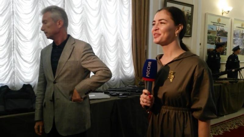 В Ростове открылась выставка трофейного оружия сирийских боевиков