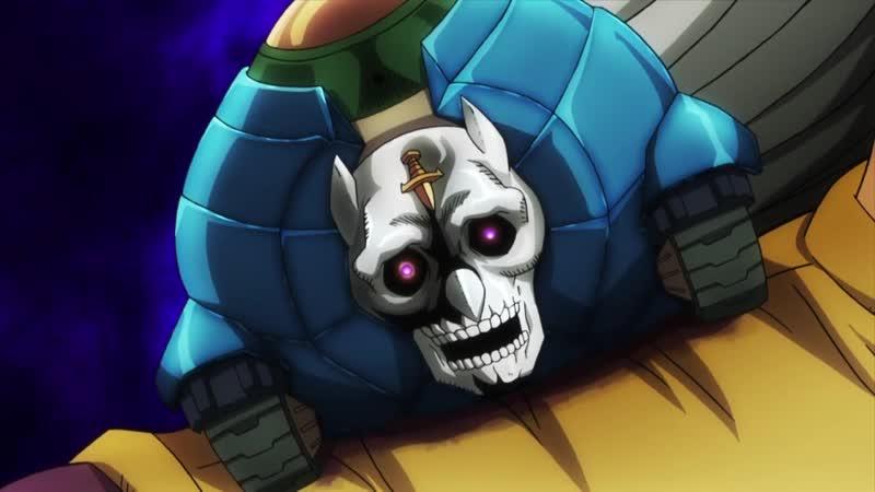 Anime365 Сюда смотри Оригинал момент из аниме JoJo no Kimyou na Bouken Part 4 Diamond wa Kudakenai mp4