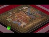 Сергей Лавров подарил северокорейскому руководителю Ким Чен Ыну шкатулку с холуйской лаковой миниатюрой