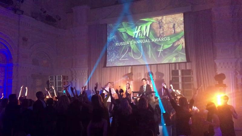 Выступление кавер-группы TARANTINOS на корпоративе компании HM | RocketBooking.ru